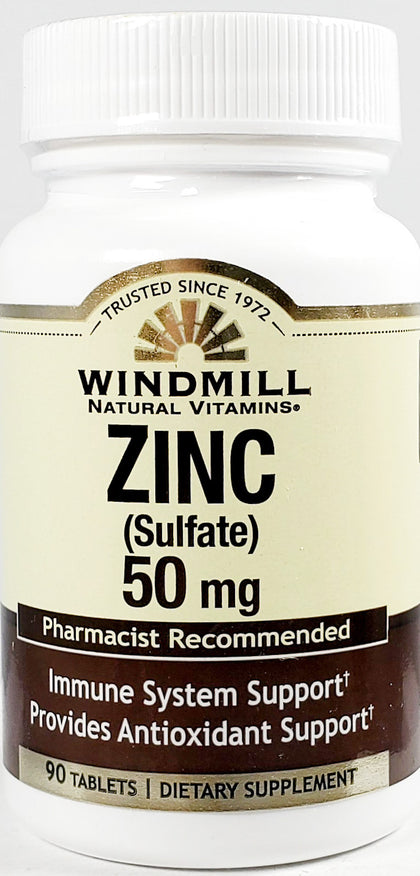 Rugby Zinc, 50 mg (Immune Support) 100 Capsules
