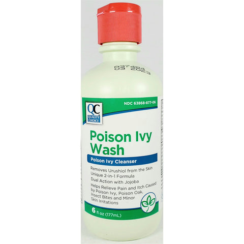 QC Poison Ivy Wash, 6 fl oz