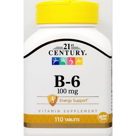 21st Century B6, 100 mg 110 Tablets