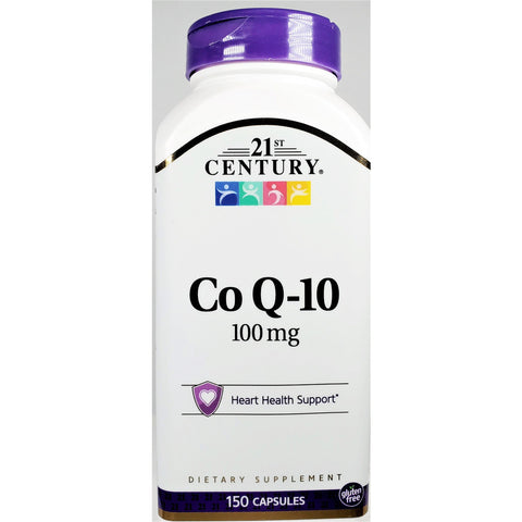 21st Century Co Q10, 100 mg 150 Capsules