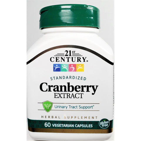 21st Century Cranberry Extract, 400 mg 60 Vegetarian Capsules