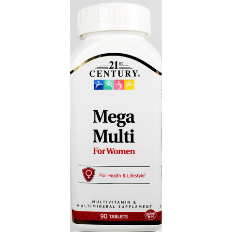 21st Century Mega Multi for Women, 90 Tablets