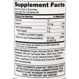 21st Century Vita Joy Vitamin D Gummies,  50 mcg 120 Count (Peach Flavor)