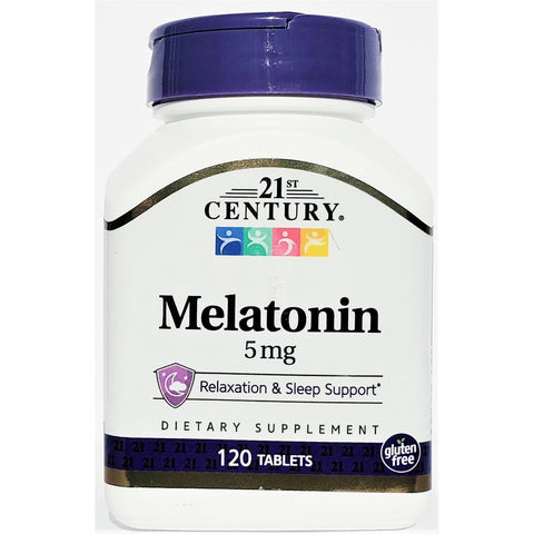21st Century Melatonin, 5 mg 120 Tablets