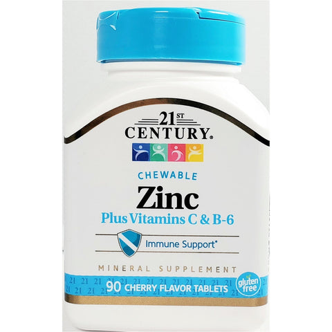 21st Century Zinc plus Vitamins C & B6 (Immune Support)