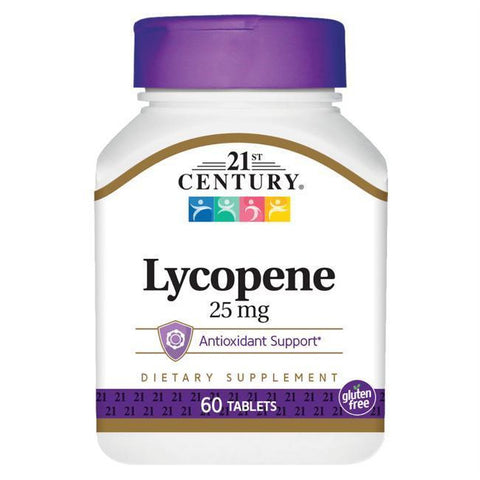 21st Century Lycopene Supplement, Maximum Strength 60 tablets