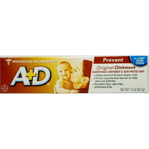 A+D Ointment Original 15 Oz Each (1 3 Or 6 Pack) 1 Pack Skin Protectant