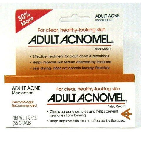 Adult Acnomel Acne Medication 1.3 Oz Each (1 3 Or 6 Pack) 1 Pack Skin Care