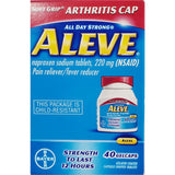 Aleve (Naproxen Sodium), 220 mg 40 GelCaps