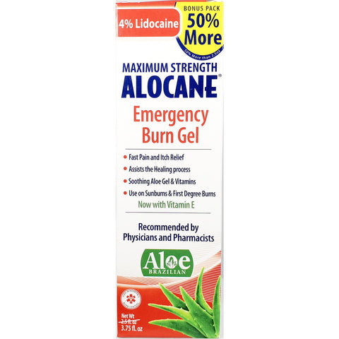 Alocane (Maximum Strength) w/ Vitamin E, 3.75 fl oz