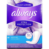 Always Daily Liners, 50 Regular