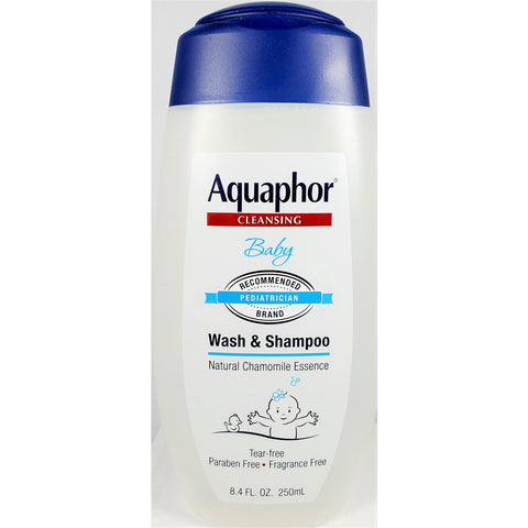 Aquaphor Baby Wash & Shampoo, 8.4 fl oz