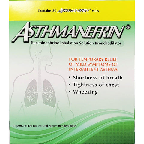 Asthmanefrin (Alternative to Primatine Mist CFC Inhaler )