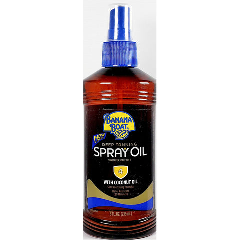 Banana Boat Deep Tanning Spray, 8 fl oz