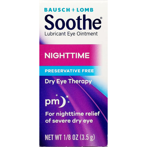 Bausch & Lomb Soothe Nighttime (Dry Eye Therapy) 1/8 oz