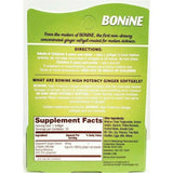 Bonine Ginger Softgels 10 Each (1 Or 3 Pack) Digestive Health