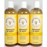 Burt's Bees Baby Shampoo & Wash 12 fl oz Each (3 Pack)