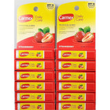 Carmex Daily Care Strawberry Lip Balm 0.15 Oz Each (6 Or 12 Pack) Pack & Oral Hygiene