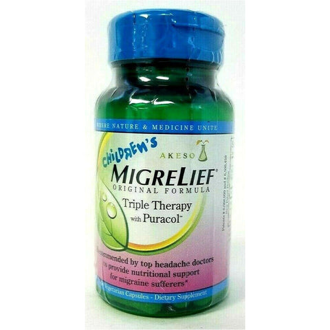 Childrens Migrelief 60 Capsules (1 Pack) Pain & Fever
