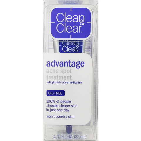 Clean & Clear Advantage Acne Spot Treatment, 0.75 fl oz