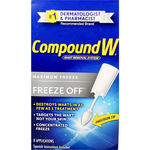 Compound W Wart Removal System (Freeze Off), 8 Applications