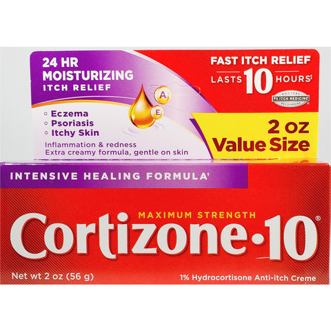 Cortizone 10 Anti-Itch Creme, 2 oz