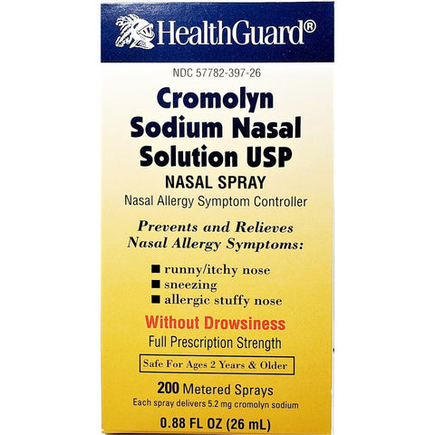Cromolyn Sodium Nasal Solution, 0.88 fl oz