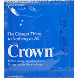 Crown Lightly Lubricated Latex Condoms (50 Or 100 Count) Mens Locker