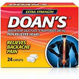 Doans Extra Strength 24 Caplets (1 Or 3 Pack) 1 Pack Pain & Fever
