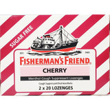 Fishermans Friend Cherry Menthol (Sugar Free) Lozenges 40 Count