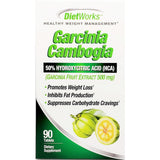 Dietworks Garcinia Cambogia, 500 mg 90 Tablets