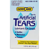 Artificial Tears Lubricant Eye Drops by GeriCare, 1/2 fl oz