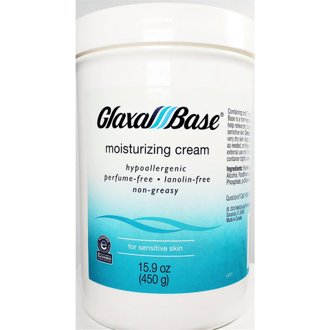 Glaxal Base Moisturizing Cream for Sensitive Skin, 15.9 oz
