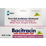Globe Bacitracin Ointment with Aloe, 1 oz