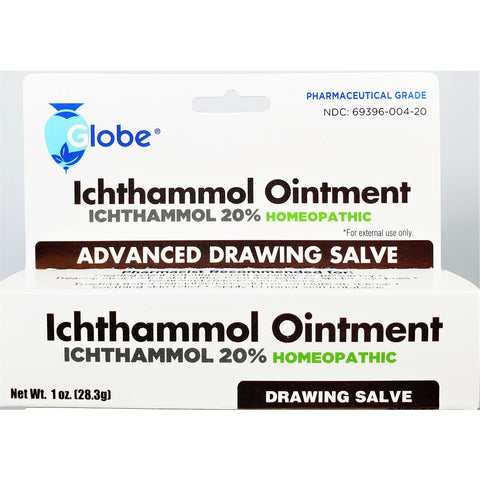 Globe Ichthammol Ointment Advanced Drawing Salve, 1 oz