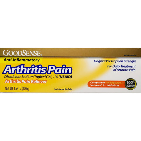 GoodSense Arthritis Pain (Compare to Voltaren) 3.53 oz
