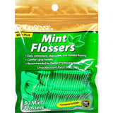 GoodSense Mint Flossers, (Compare to GUM) 50 Count
