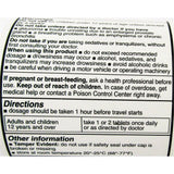 Sda Meclizine (Compare To Bonine) 25 Mg 1000 Chewable Anti-Emetic Tablets (1 Pack) Digestive Health