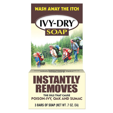 Ivy-Dry Bar Soap - 3 bars 0.7 oz Each
