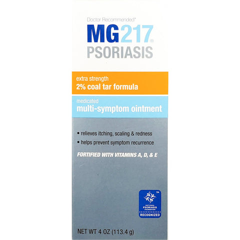 MG217 Psoriasis, Medicated Multi-Symptom Ointment, 4 oz