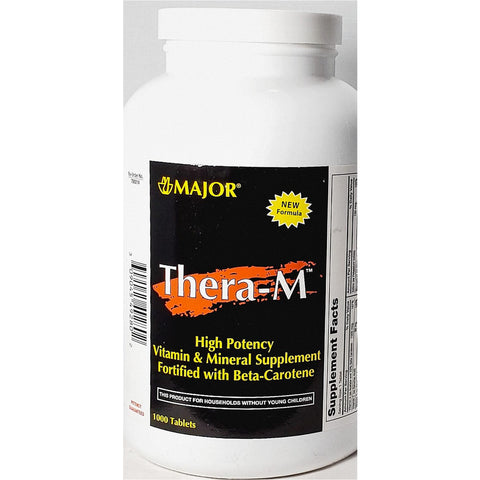Thera-M, 1000 Tablets by Major