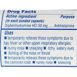 Major Banophen Allergy (Compare To Benadryl) 50 Mg 100 Capsules Each (1 Or 3 Pack) Asthma & Sinus