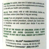 Major Tab A Vite (Multiple Vitamins) Supplement, 100 Tablets (1 or 3 Pack)