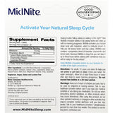 MidNite with Melatonin, 30 Chewable Cherry Tablets