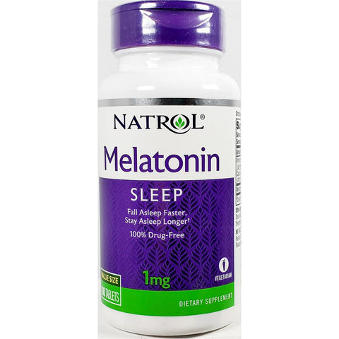 Natrol Melatonin Sleep, 1 mg 180 Tablets