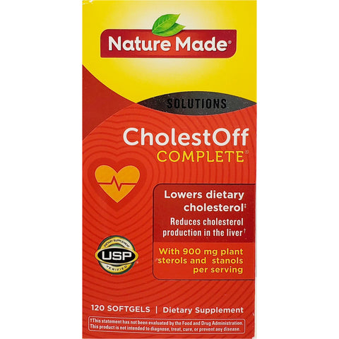 Nature Made CholestOff Complete, 120 Softgels