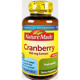 Nature Made Cranberry Extract with Vitamin C, 450 mg 120 Softgels