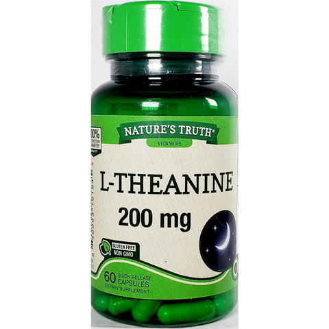 Nature's Truth L-Theanine, 60 Quick Release Capsules