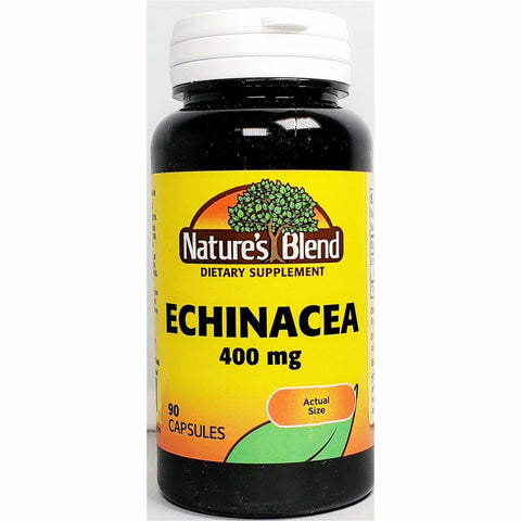 Nature's Blend Echinacea (Immune Support), 400 mg 90 Capsules
