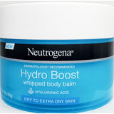 Neutrogena Hydro Boost Whipped Body Balm, 6.7 oz